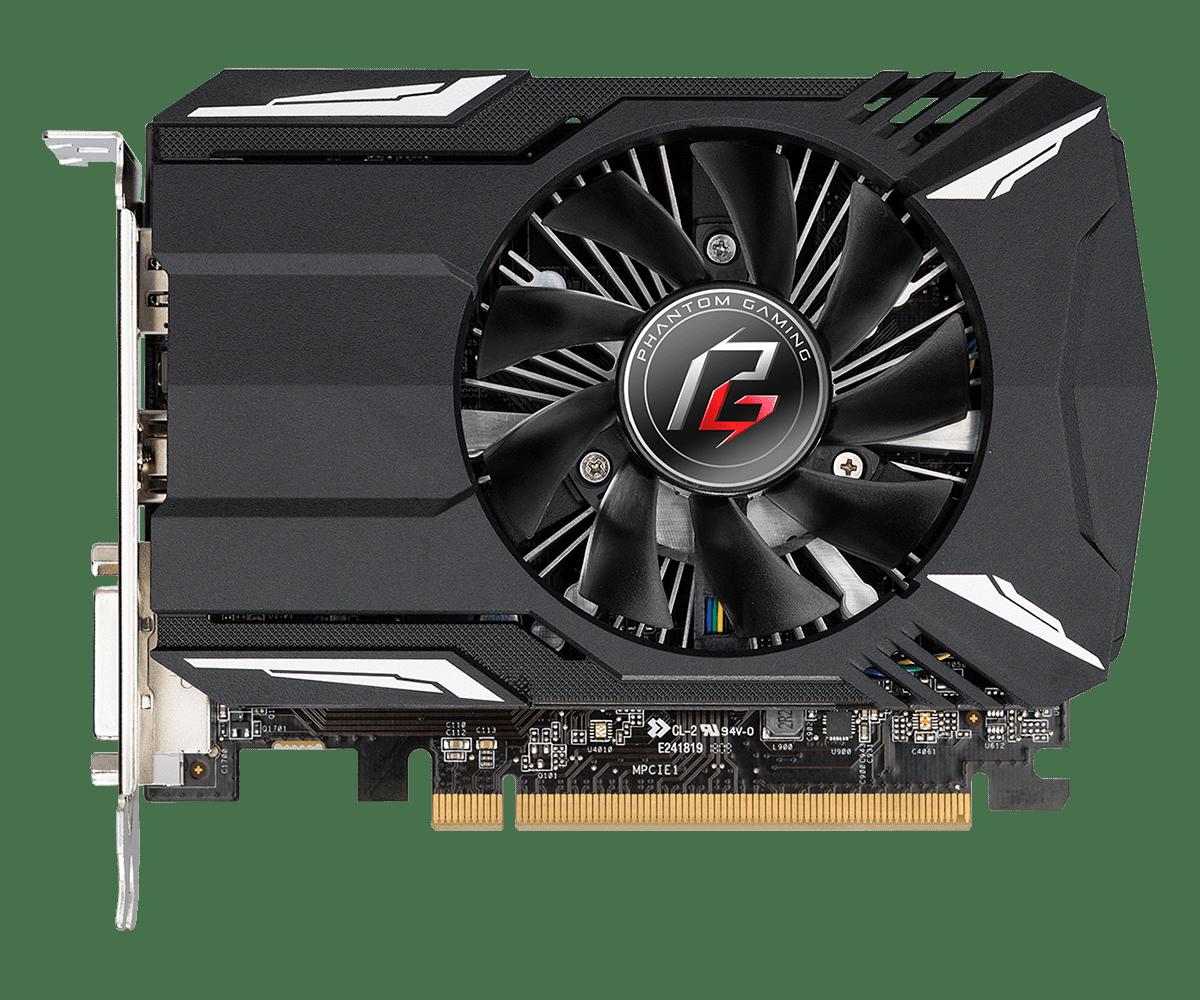 Phantom Gaming Radeon RX550 2GL2