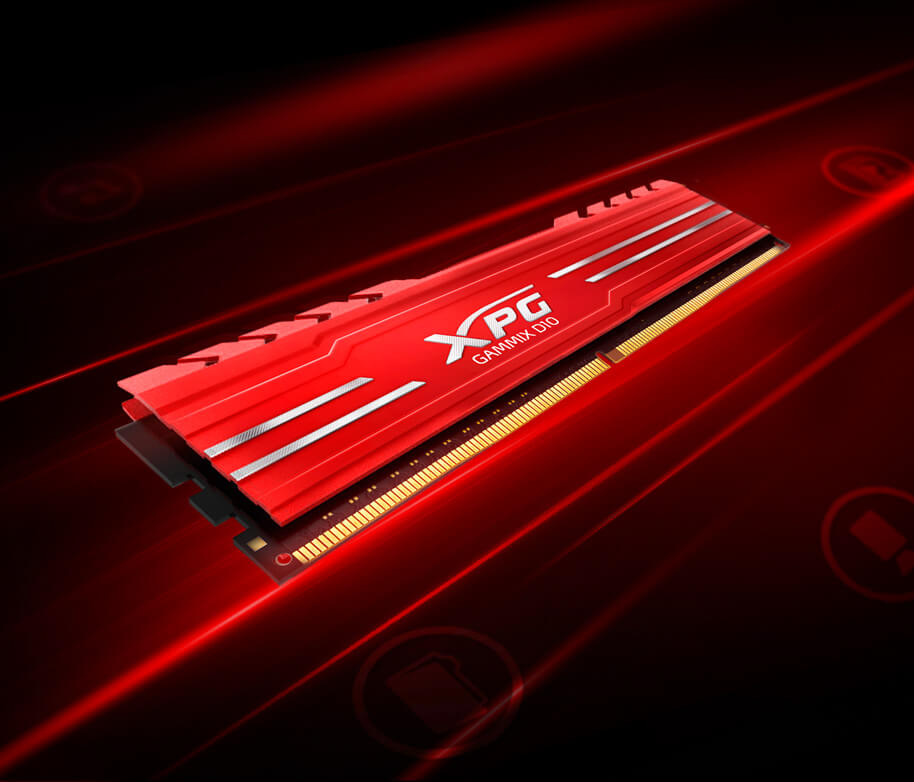 MEMORIA XPG GAMMIX D10 DDR4 A 3000MHZ 5