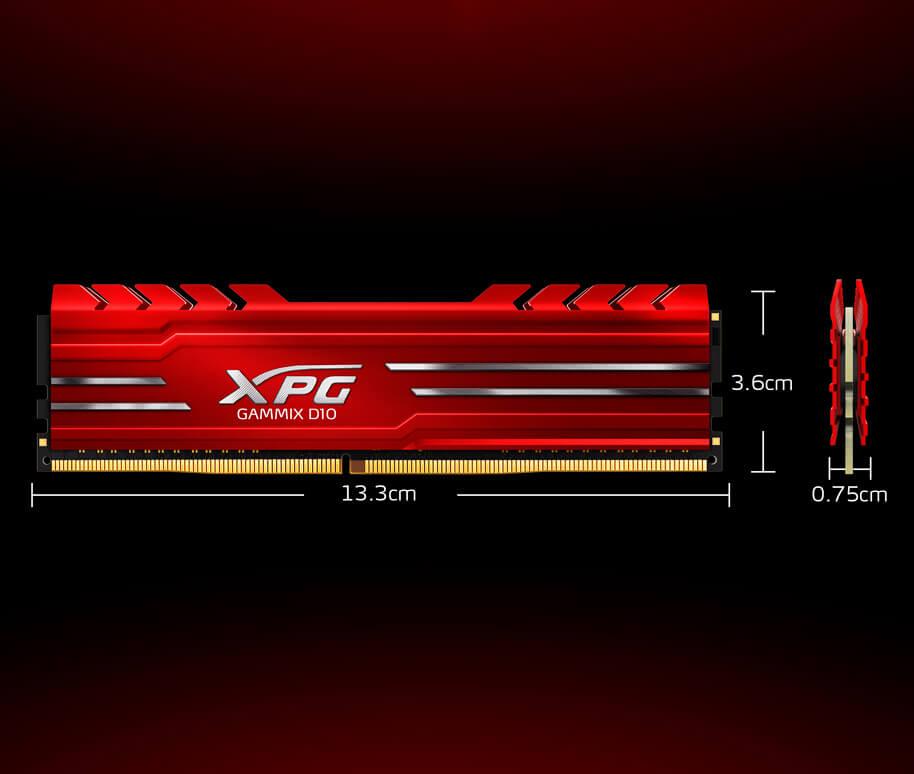 MEMORIA XPG GAMMIX D10 DDR4 A 3000MHZ 7