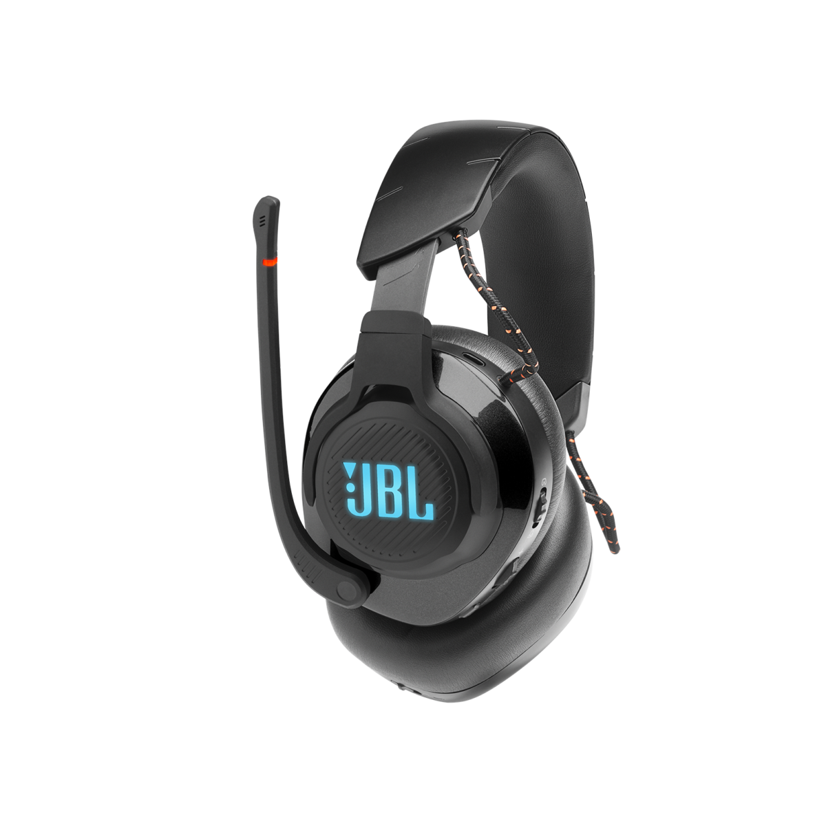 JBL QUANTUM 600 Product Image Side Mic Up Teal